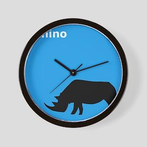 iRhino Wall Clock