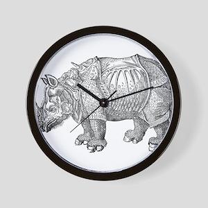 Rhinoceros Wall Clock