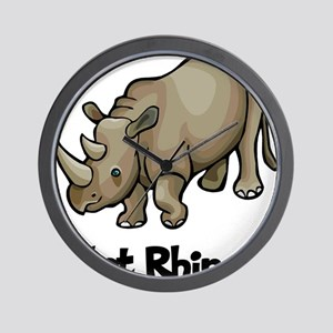 Got Rhino? Wall Clock