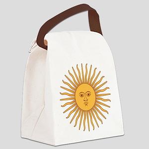 Sol de Mayo Canvas Lunch Bag