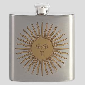 Sol de Mayo Flask
