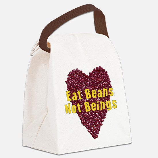 vegan08.png Canvas Lunch Bag