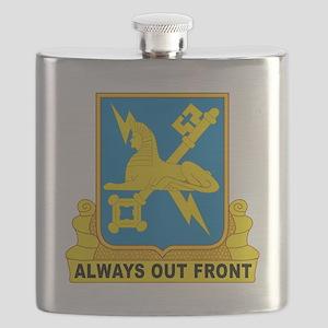 USA Army Military Intelligence Insignia Flask