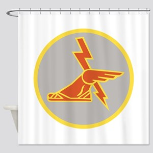 USA 9th Signal Battalion Shower Curtain