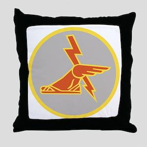 USA 9th Signal Battalion Throw Pillow