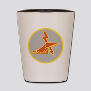 USA 9th Signal Battalion Shot Glass