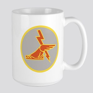 USA 9th Signal Battalion Large Mug