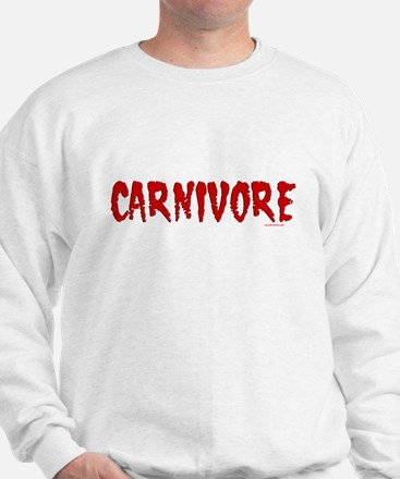 Carnivore Text Sweatshirt
