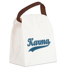 Retro Karma Canvas Lunch Bag
