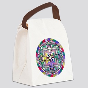 Mandala Canvas Lunch Bag