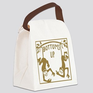 Retro Bottoms Up Canvas Lunch Bag