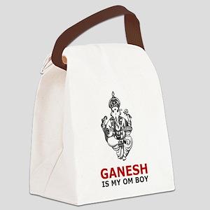 Hinduism Ganesh Is My Om Boy Canvas Lunch Bag