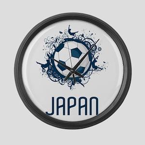 Japan Football Large Wall Clock