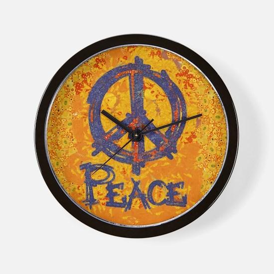 Gustav Klimt Peace Wall Clock