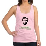 Abraham Lincoln Racerback Tank Top