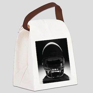 Football Helmet Canvas Lunch Bag