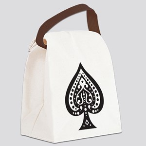 Spade Canvas Lunch Bag