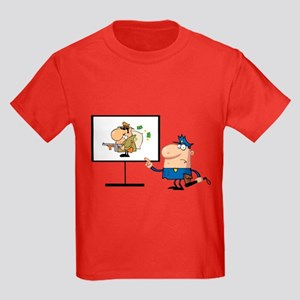 Police Kids Dark T-Shirt
