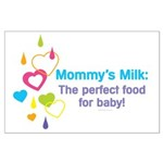 Mommys Milk Large Poster