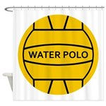 Water Polo Ball Shower Curtain
