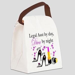 LEGAL ASSISTANT Canvas Lunch Bag