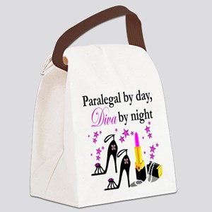 PARALEGAL Canvas Lunch Bag