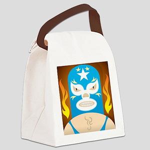 Lucha Libre Canvas Lunch Bag