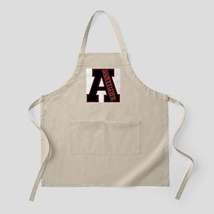 ASHLEE Letterman design Red/b BBQ Apron