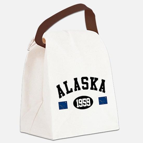 Alaska 1959 Canvas Lunch Bag
