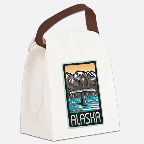 Alaska Canvas Lunch Bag