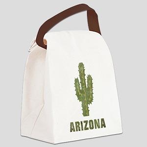 Vintage Arizona Canvas Lunch Bag