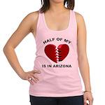 Heart In Arizona Racerback Tank Top