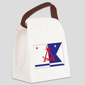 Alameda Flag Canvas Lunch Bag