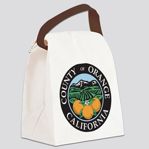 Orange County Seal Canvas Lunch Bag