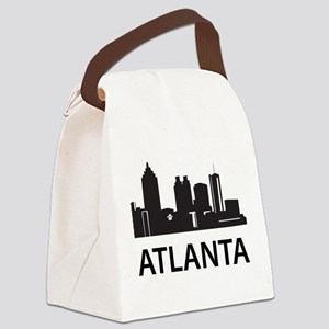 Atlanta Skyline Canvas Lunch Bag