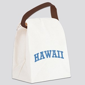 Vintage Hawaii Canvas Lunch Bag