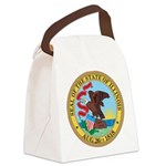 Illinois Seal Canvas Lunch Bag