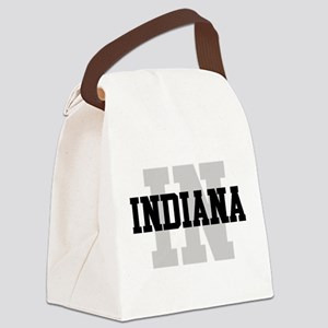 IN Indiana Canvas Lunch Bag