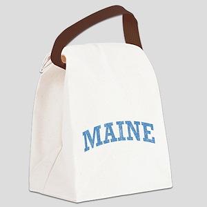 Vintage Maine Canvas Lunch Bag