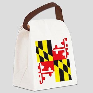 Maryland Flag Canvas Lunch Bag
