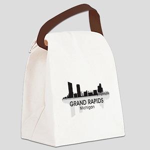 Grand Rapids Skyline Canvas Lunch Bag