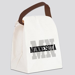 MN Minnesota Canvas Lunch Bag