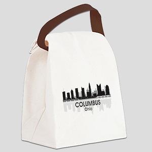 Columbus Skyline Canvas Lunch Bag