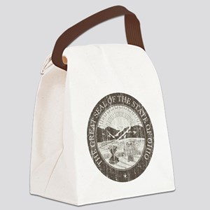 Vintage Ohio Seal Canvas Lunch Bag