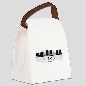 El Paso Skyline Canvas Lunch Bag