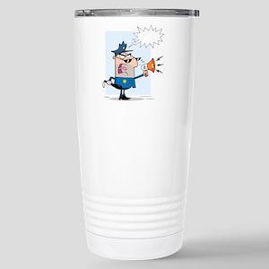 Police Stainless Steel Travel Mug