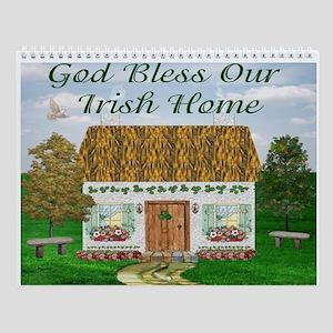 Irish Cottages (12 Designs) Wall Calendar