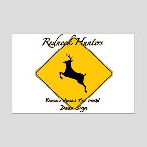 Redneck hunters Mini Poster Print