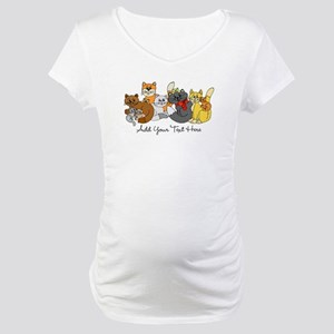 Cats and Kittens Maternity T-Shirt