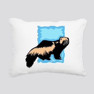 Wolverine Rectangular Canvas Pillow
